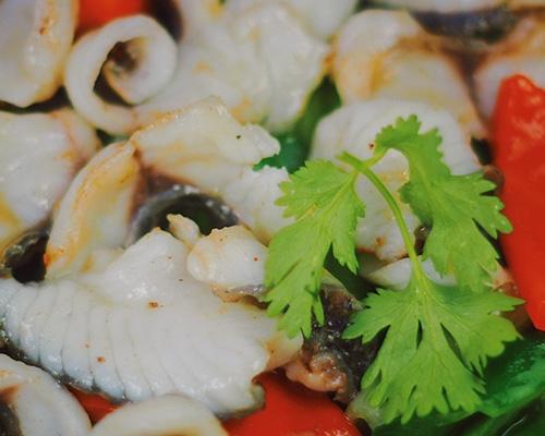 翠桂妃炒鱼片